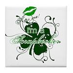 Kiss Me! Tile Coaster