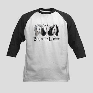 Beardie Lover Kids Baseball Jersey