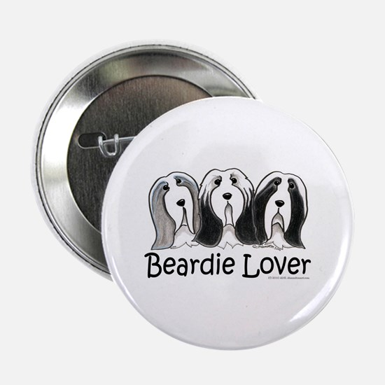"Beardie Lover 2.25"" Button"