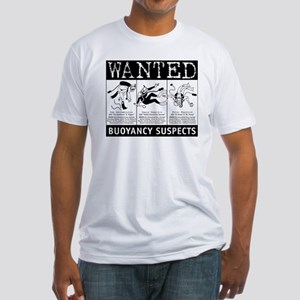 Buoyancy Suspects Scuba Fitted T-Shirt