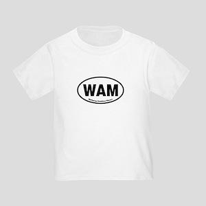 WAM Wolfgang Amadeus Mozart Toddler T-Shirt