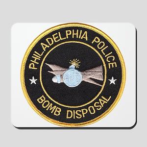 Philidelphia Police Bomb Squad Mousepad