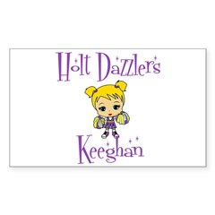 Holt Dazzlers Keeghan Sticker (Rectangle)