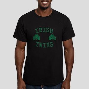 Irish Twins Men's Fitted T-Shirt (dark)