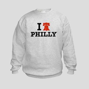I Love Philly Kids Sweatshirt