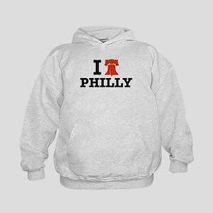 I Love Philly Kids Hoodie