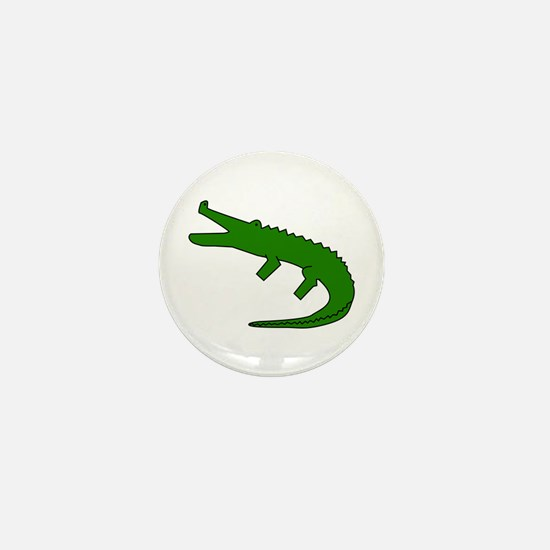Alligator Mini Button
