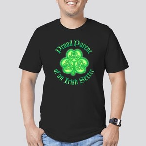 Proud Parent of an Irish Setter Men's Fitted T-Shi
