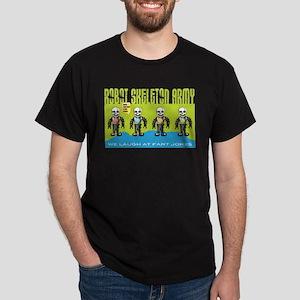 Robot Skeleton Army Dark T-Shirt