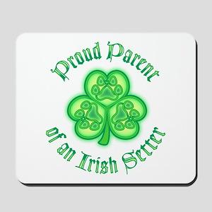 Proud Parent of an Irish Setter Mousepad