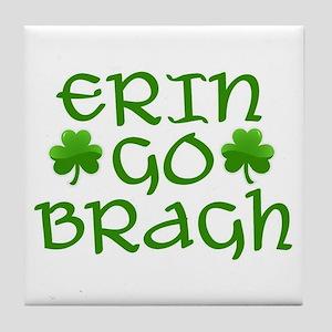 ERIN GO BRAGH Tile Coaster