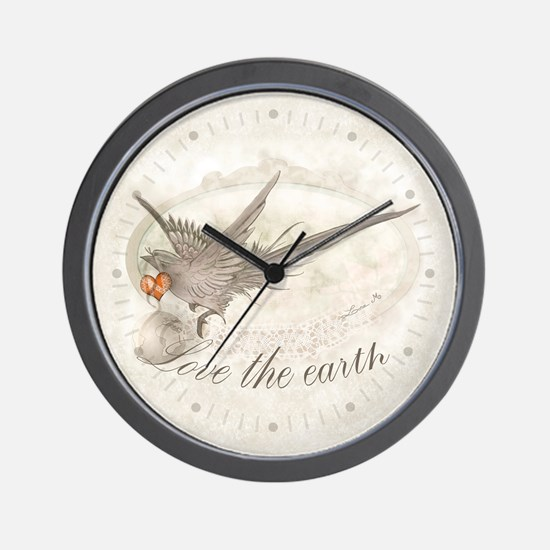 Love the Earth - Wall Clock