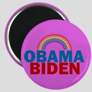 Obama Rainbow Magnet