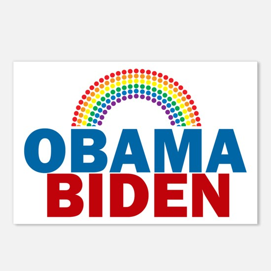 Obama Rainbow Postcards (Package of 8)