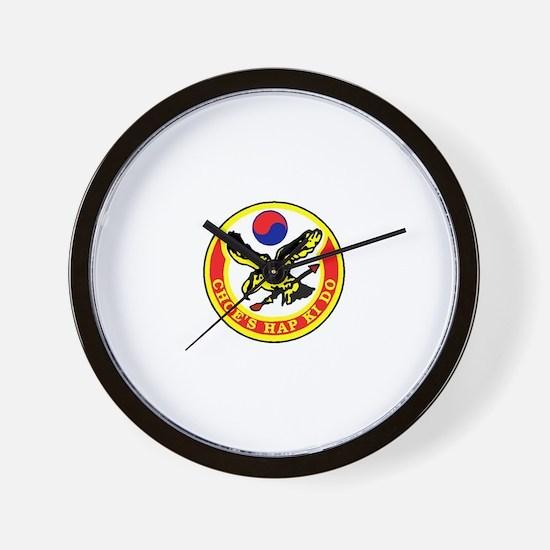 Choe's HapKiDo Wall Clock