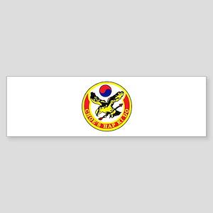 Choe's HapKiDo Sticker (Bumper)