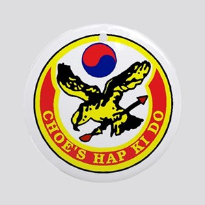 Choe's HapKiDo Ornament (Round)