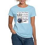 Bowling Therapy Women's Light T-Shirt