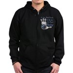 Bowling Therapy Zip Hoodie (dark)