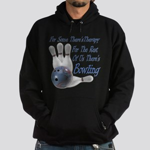 Bowling Therapy Hoodie (dark)