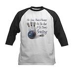 Bowling Therapy Kids Baseball Jersey