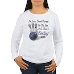 Bowling Therapy Women's Long Sleeve T-Shirt