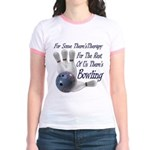 Bowling Therapy Jr. Ringer T-Shirt