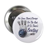 "Bowling Therapy 2.25"" Button (100 pack)"