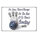 Bowling Therapy Banner