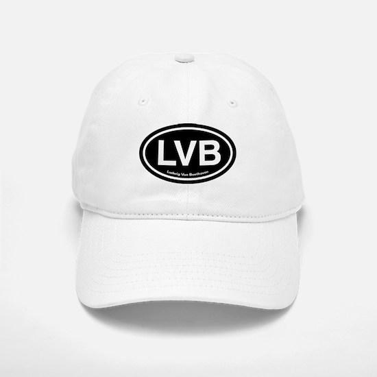 LVB Ludwig van Beethoven Baseball Baseball Cap