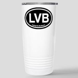 LVB Ludwig van Beethoven Stainless Steel Travel Mu