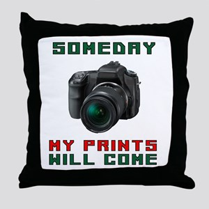 SMILE I'VE GOT YOUR PHOTO Throw Pillow
