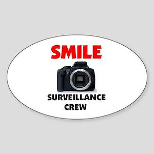 SMILE I'VE GOT YOUR PHOTO Sticker (Oval 10 pk)
