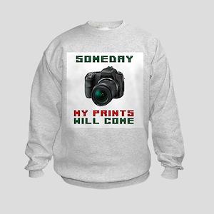SMILE I'VE GOT YOUR PHOTO Kids Sweatshirt