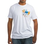 Sleeping Amour Fitted T-Shirt