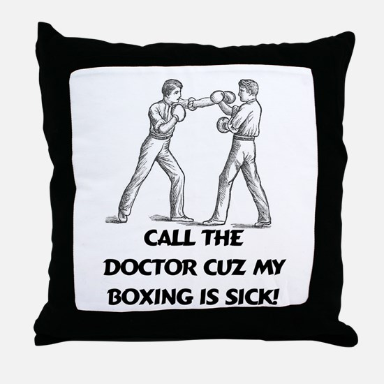 Call the Doctor Throw Pillow