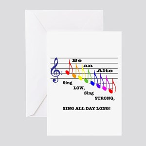 Be an Alto Greeting Cards (Pk of 10)