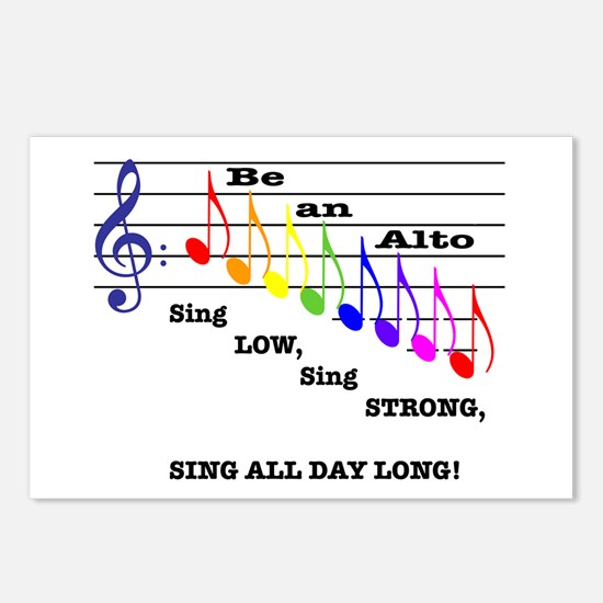 Be an Alto Postcards (Package of 8)