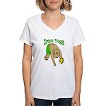 Irish Yoga Women's V-Neck T-Shirt