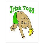 Irish Yoga Small Poster