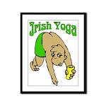 Irish Yoga Framed Panel Print