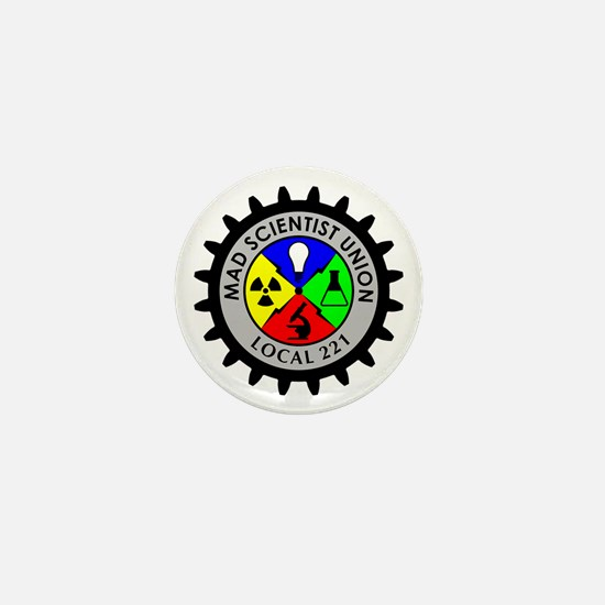 Mad Scientist Union Mini Button