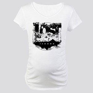 Island LOST White Maternity T-Shirt