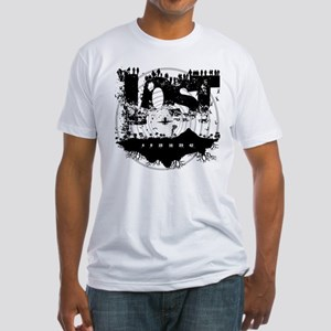 Island LOST White Fitted T-Shirt