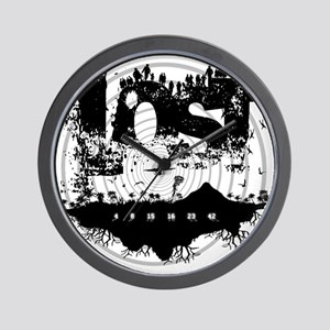 Lost Island Wall Clock