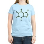 Caffeine Molecule Women's Light T-Shirt