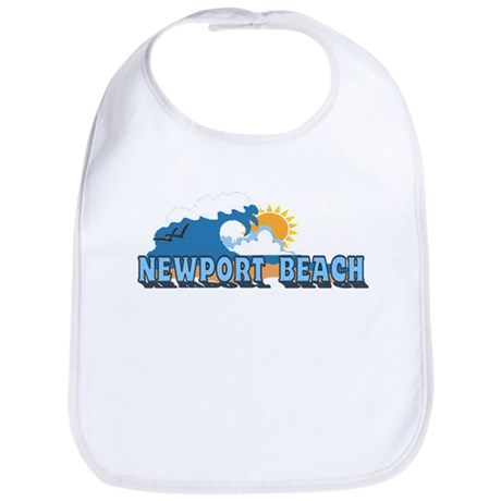 Newport Beach RI - Beach Designs Bib