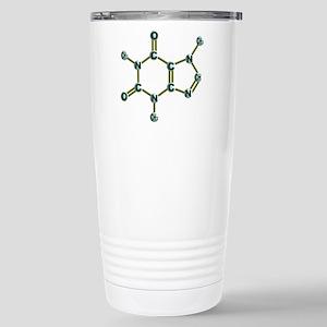 Caffeine Molecule Stainless Steel Travel Mug