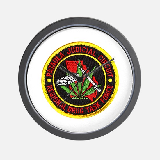 Pataula Drug Task Force Wall Clock