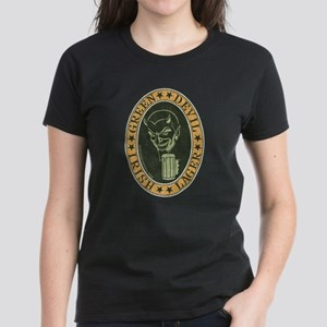 Green Devil Lager Women's Dark T-Shirt
